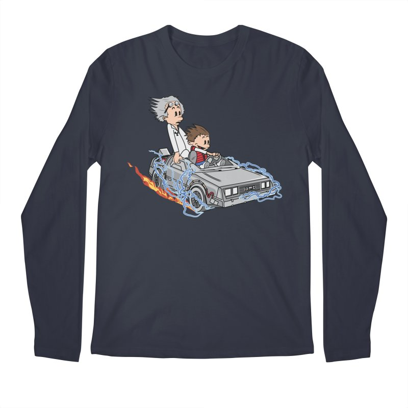 Great Scott! Men's Longsleeve T-Shirt by zomboy's Artist Shop