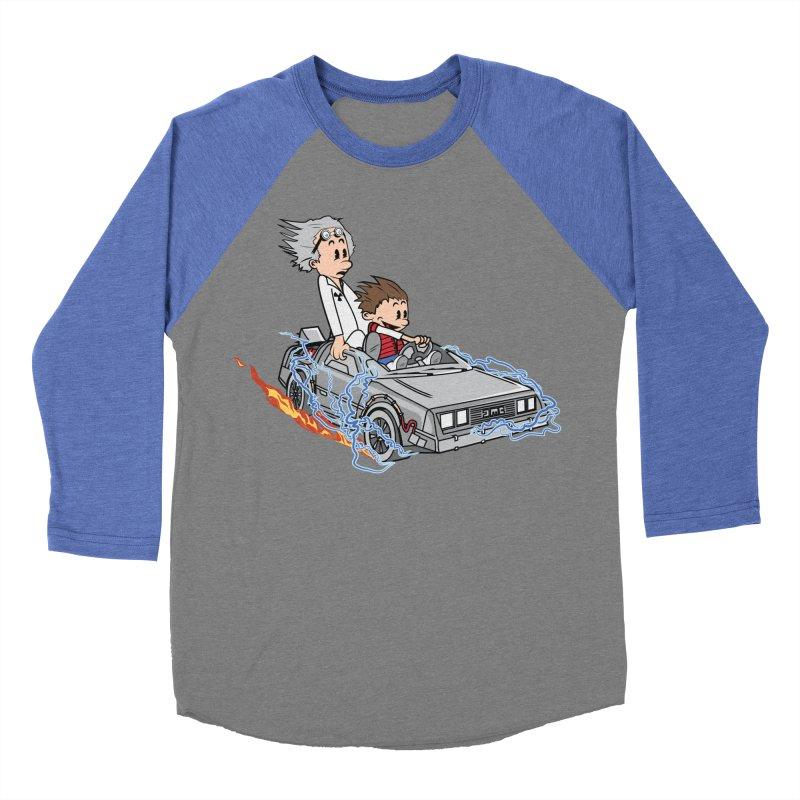 Great Scott! Men's Baseball Triblend T-Shirt by zomboy's Artist Shop