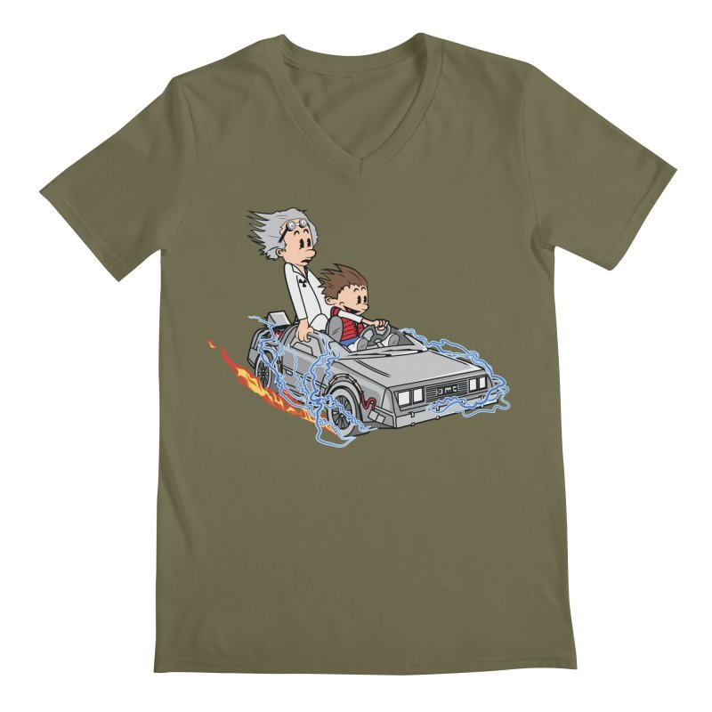 Great Scott! Men's Regular V-Neck by zomboy's Artist Shop