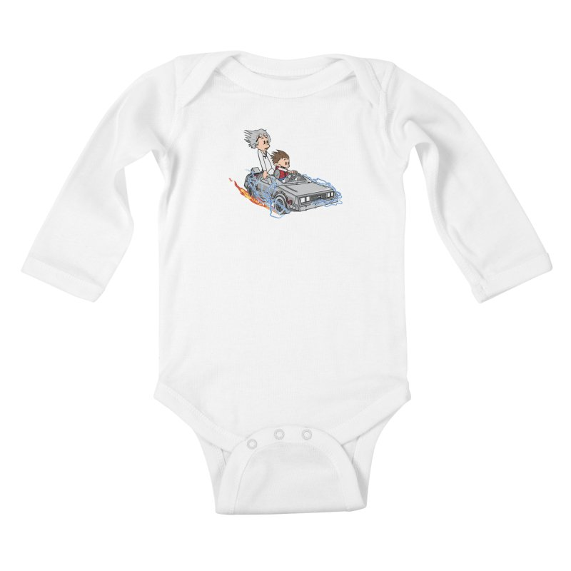 Great Scott! Kids Baby Longsleeve Bodysuit by zomboy's Artist Shop
