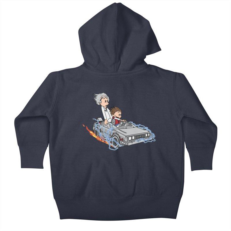 Great Scott! Kids Baby Zip-Up Hoody by zomboy's Artist Shop