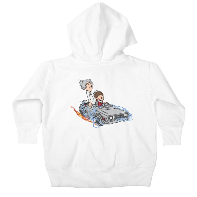 Great Scott! Kids Baby Zip-Up Hoody by zomboy's Artist Shop
