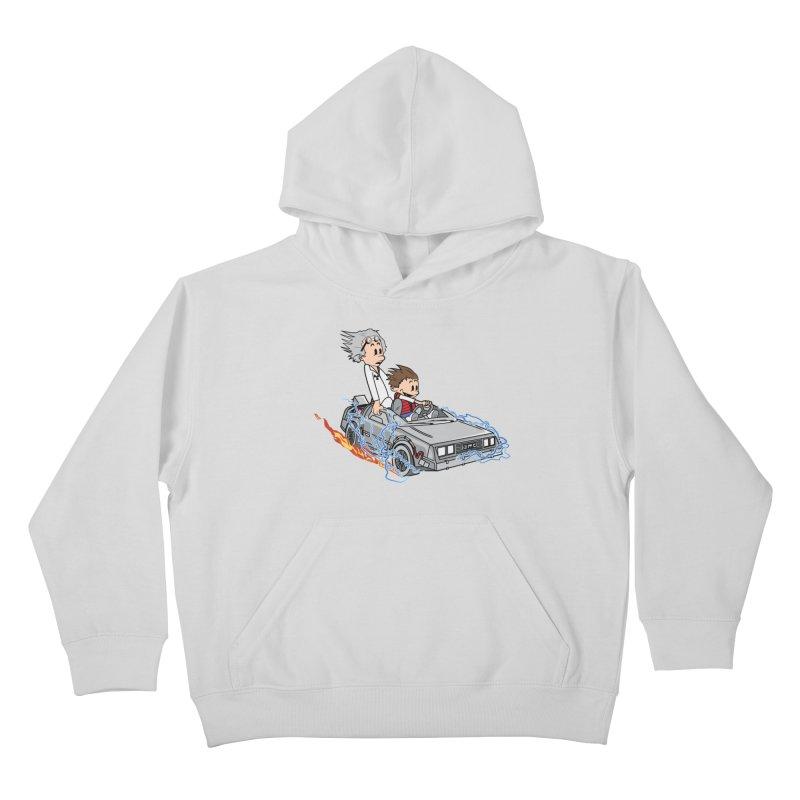 Great Scott! Kids Pullover Hoody by zomboy's Artist Shop