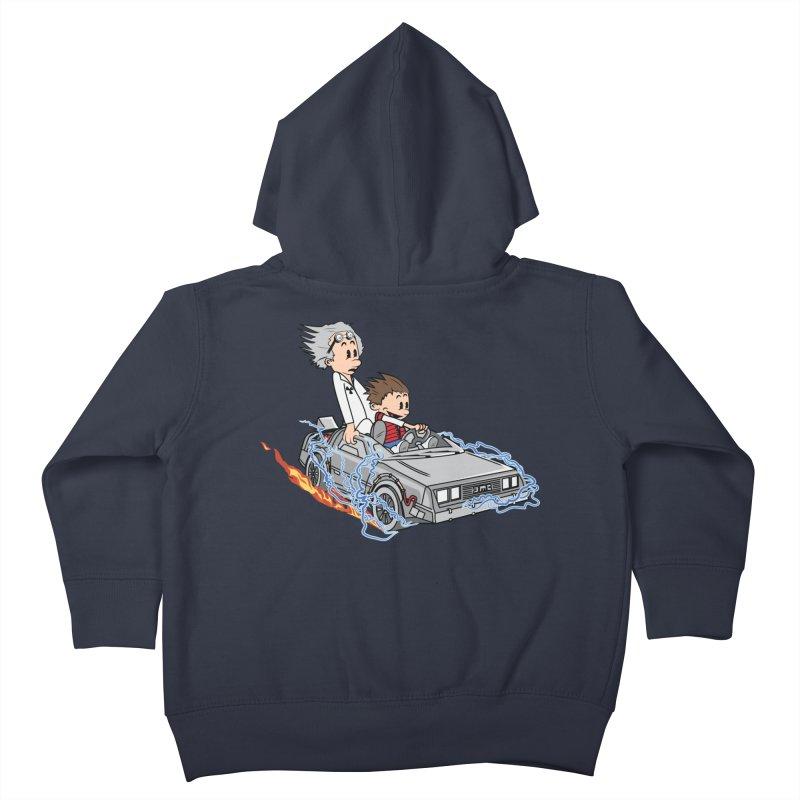 Great Scott! Kids Toddler Zip-Up Hoody by zomboy's Artist Shop