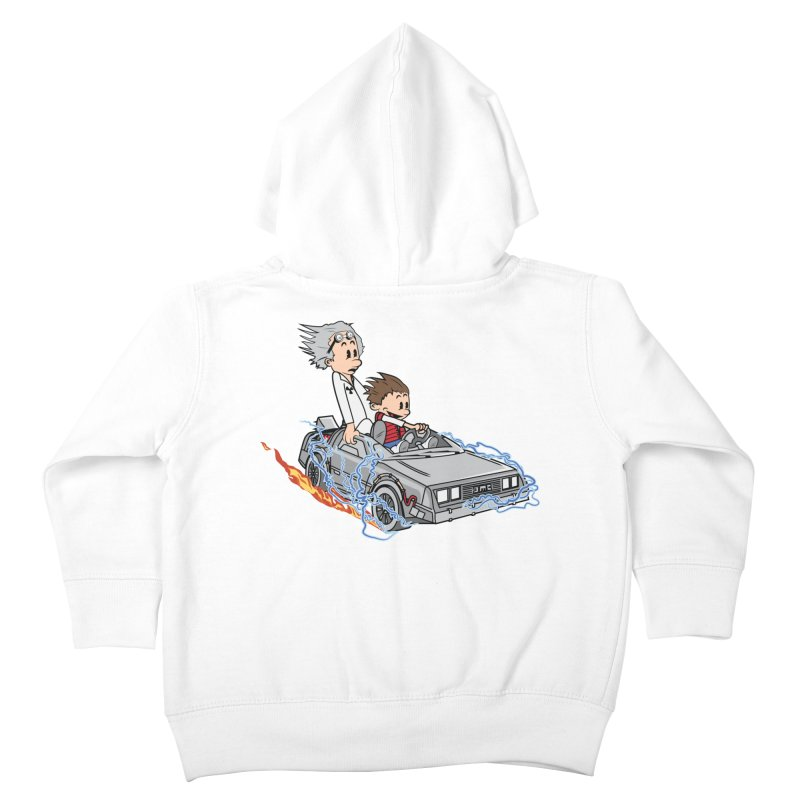Great Scott! Kids Toddler Zip-Up Hoody by zomboy's Artist Shop