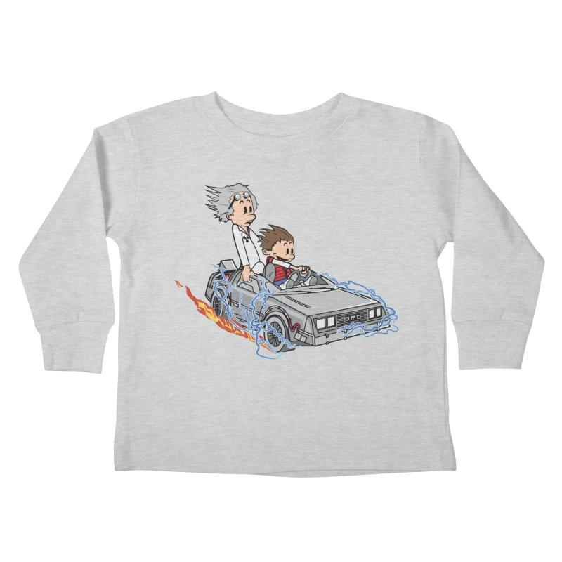 Great Scott! Kids Toddler Longsleeve T-Shirt by zomboy's Artist Shop
