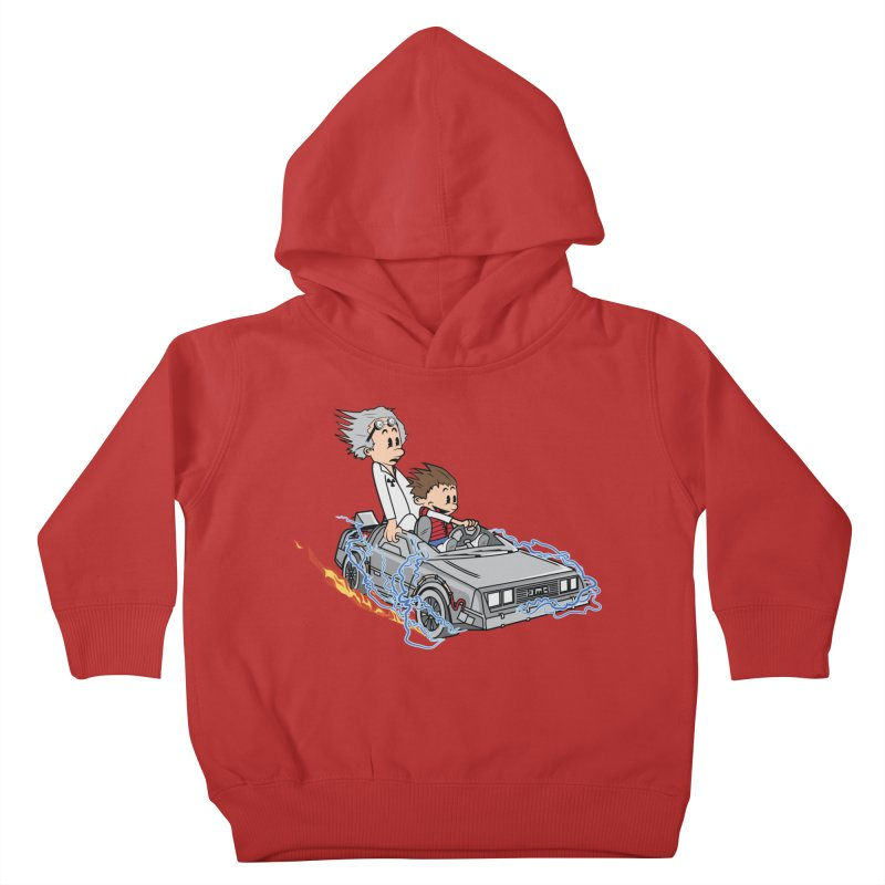 Great Scott! Kids Toddler Pullover Hoody by zomboy's Artist Shop