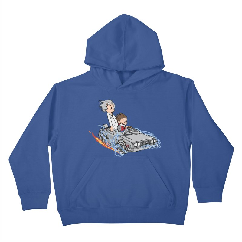 Great Scott! Kids Pullover Hoody by zomboy's Artist Shop