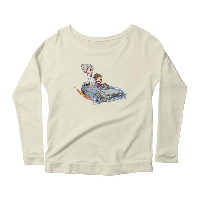 Great Scott! Women's Scoop Neck Longsleeve T-Shirt by zomboy's Artist Shop