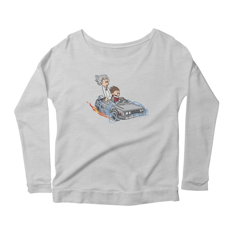 Great Scott! Women's Longsleeve Scoopneck  by zomboy's Artist Shop
