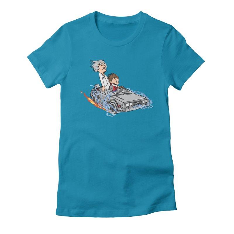 Great Scott! Women's Fitted T-Shirt by zomboy's Artist Shop