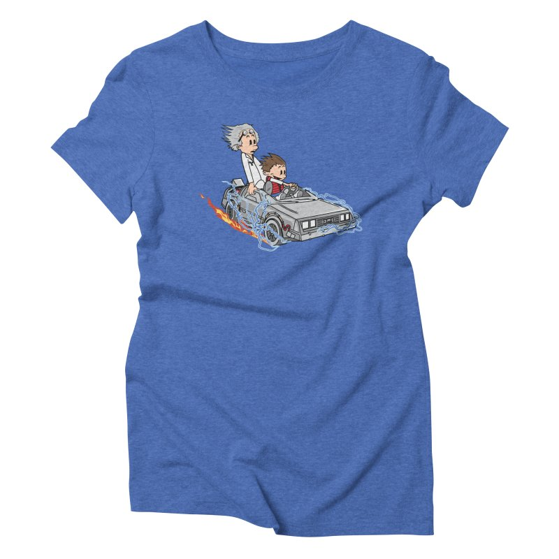 Great Scott! Women's Triblend T-Shirt by zomboy's Artist Shop
