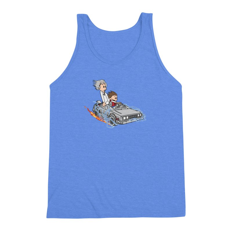 Great Scott! Men's Triblend Tank by zomboy's Artist Shop