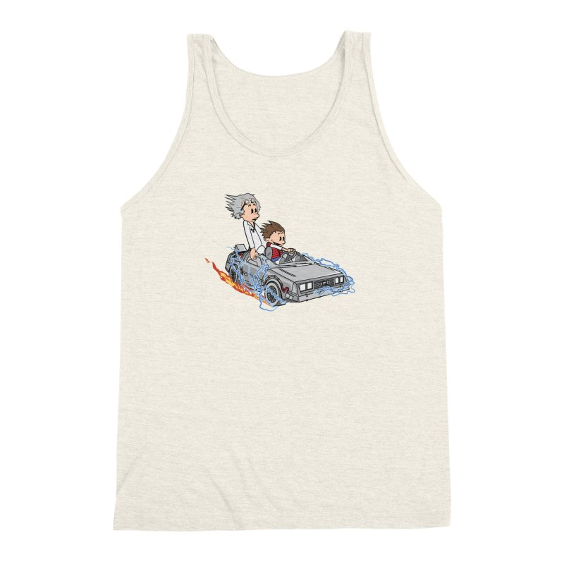 Great Scott! Men's Triblend Tank by zomboy's Artist Shop
