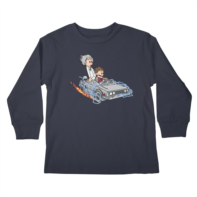 Great Scott! Kids Longsleeve T-Shirt by zomboy's Artist Shop