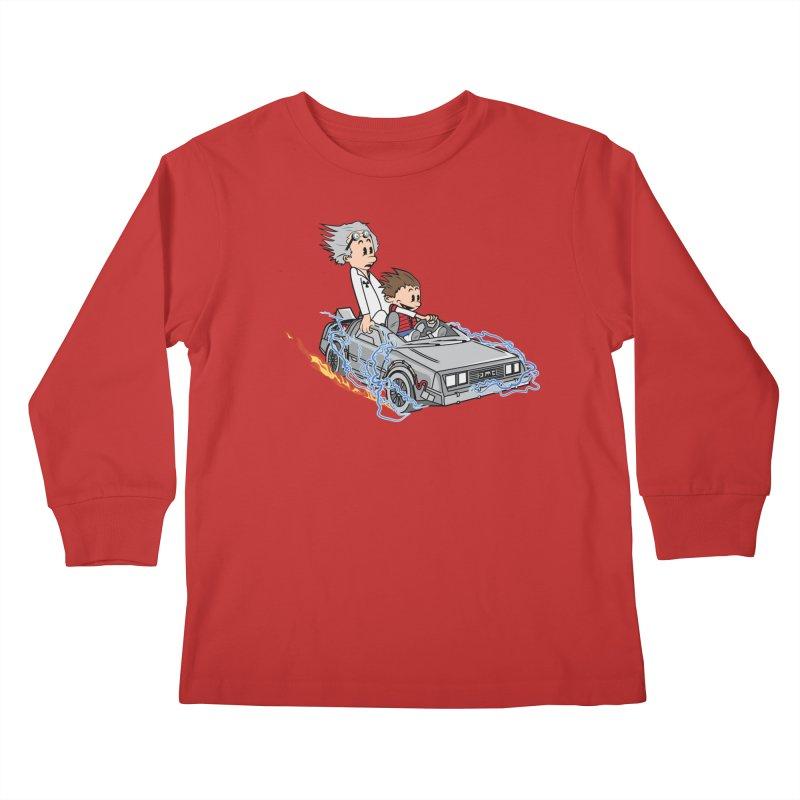 Great Scott! Kids Longsleeve T-Shirt by zomboy's Artist Shop