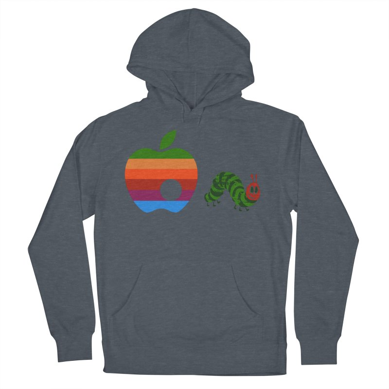 Very Hungry Men's French Terry Pullover Hoody by zomboy's Artist Shop