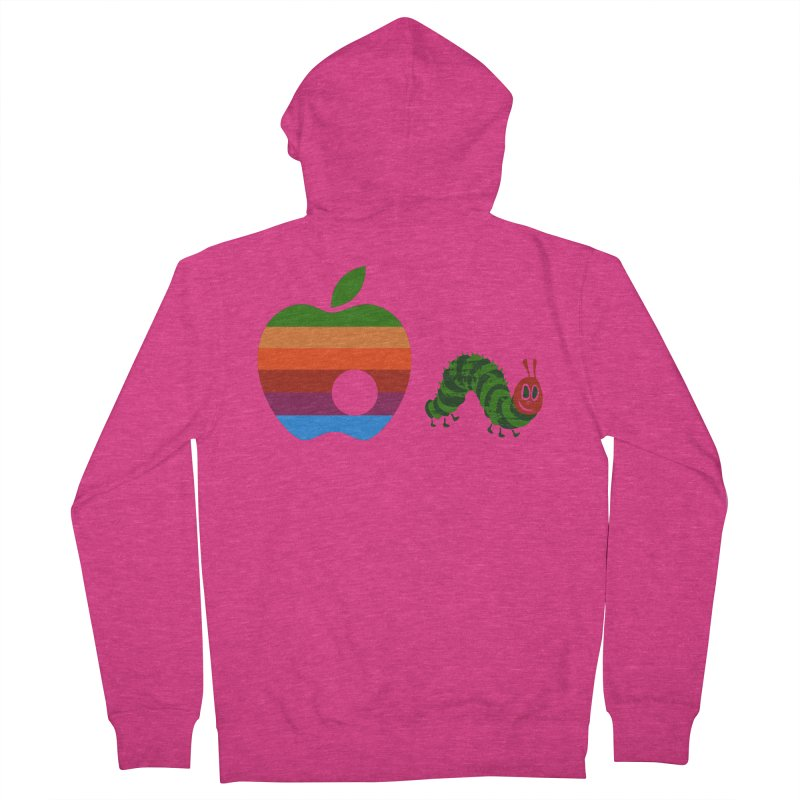Very Hungry Women's French Terry Zip-Up Hoody by zomboy's Artist Shop