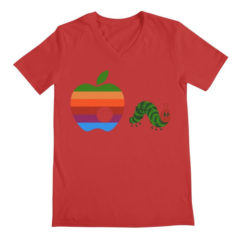 Very Hungry Men's Regular V-Neck by zomboy's Artist Shop