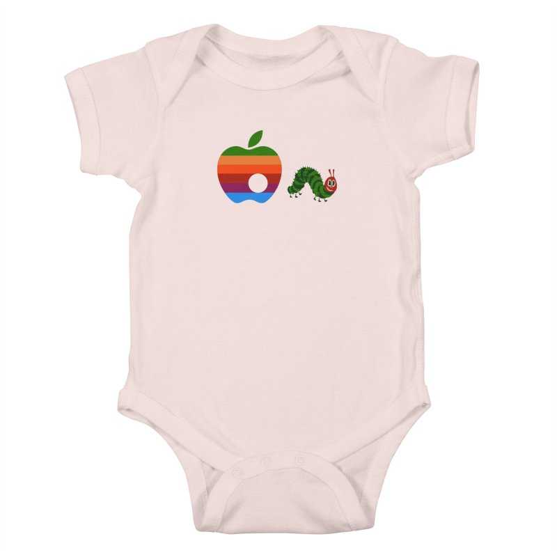 Very Hungry Kids Baby Bodysuit by zomboy's Artist Shop