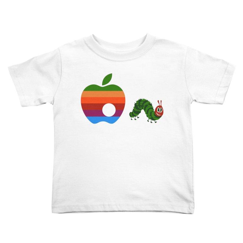 Very Hungry Kids Toddler T-Shirt by zomboy's Artist Shop