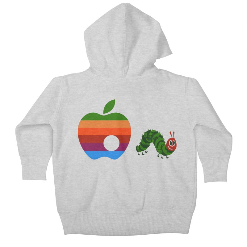 Very Hungry Kids Baby Zip-Up Hoody by zomboy's Artist Shop