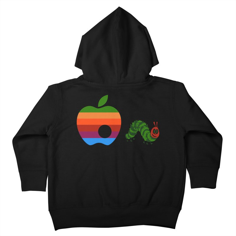 Very Hungry Kids Toddler Zip-Up Hoody by zomboy's Artist Shop