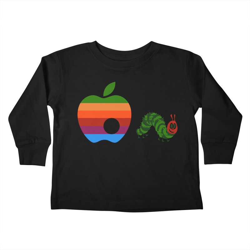 Very Hungry Kids Toddler Longsleeve T-Shirt by zomboy's Artist Shop