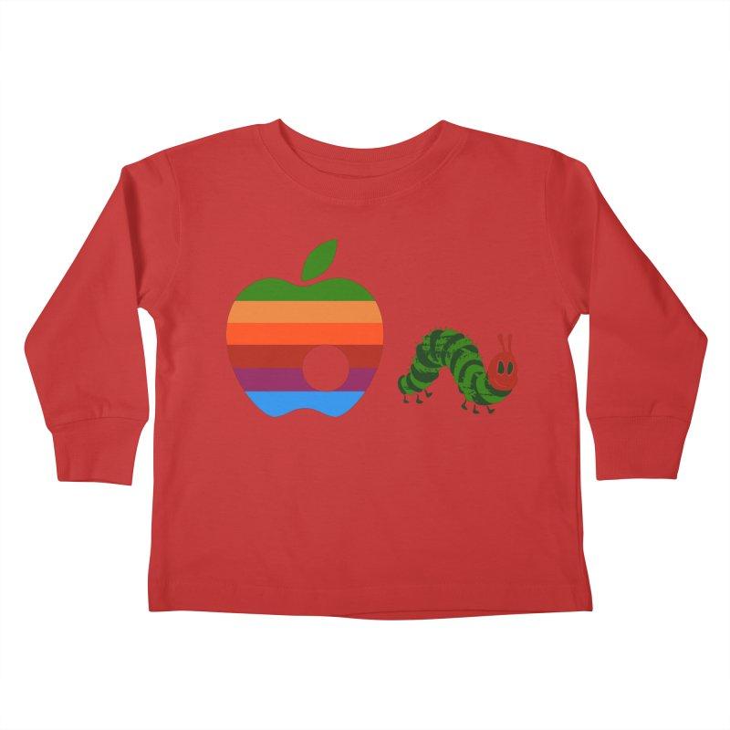 Very Hungry Kids Toddler Longsleeve T-Shirt by zomboy's Artist Shop