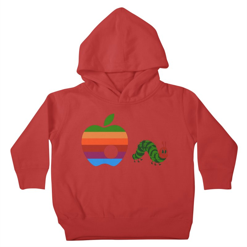 Very Hungry Kids Toddler Pullover Hoody by zomboy's Artist Shop