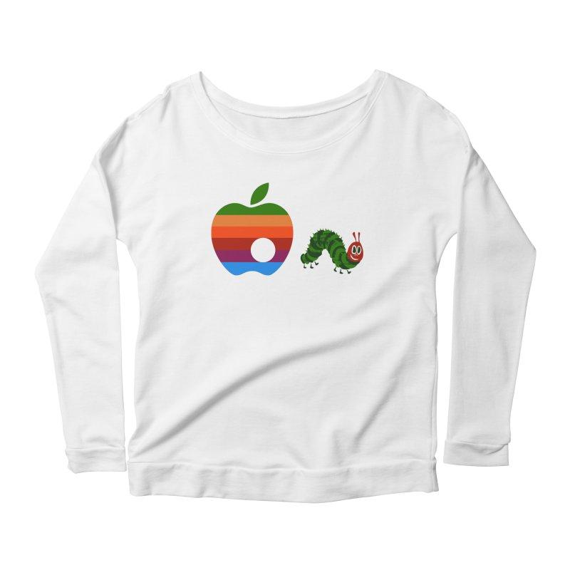 Very Hungry Women's Scoop Neck Longsleeve T-Shirt by zomboy's Artist Shop