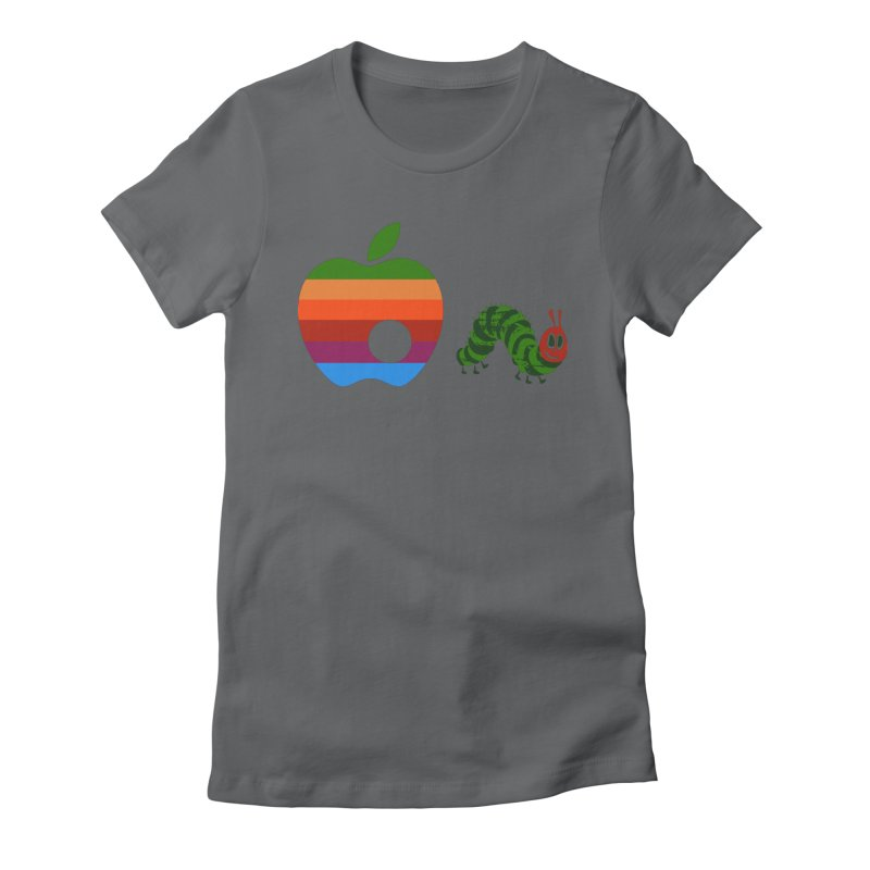 Very Hungry Women's Fitted T-Shirt by zomboy's Artist Shop
