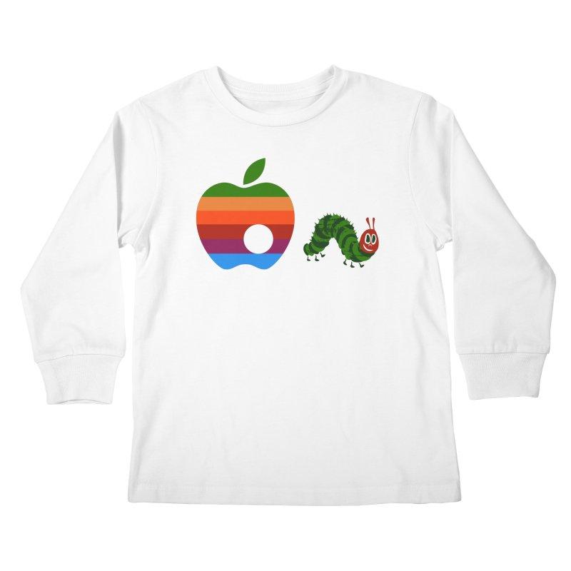 Very Hungry Kids Longsleeve T-Shirt by zomboy's Artist Shop