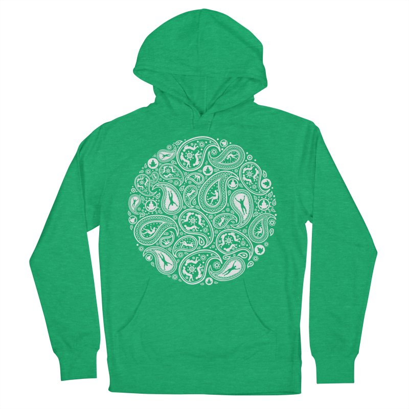 Human Paisley Women's French Terry Pullover Hoody by zomboy's Artist Shop