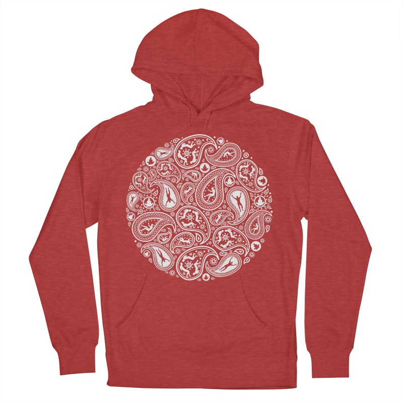 Human Paisley Women's Pullover Hoody by zomboy's Artist Shop