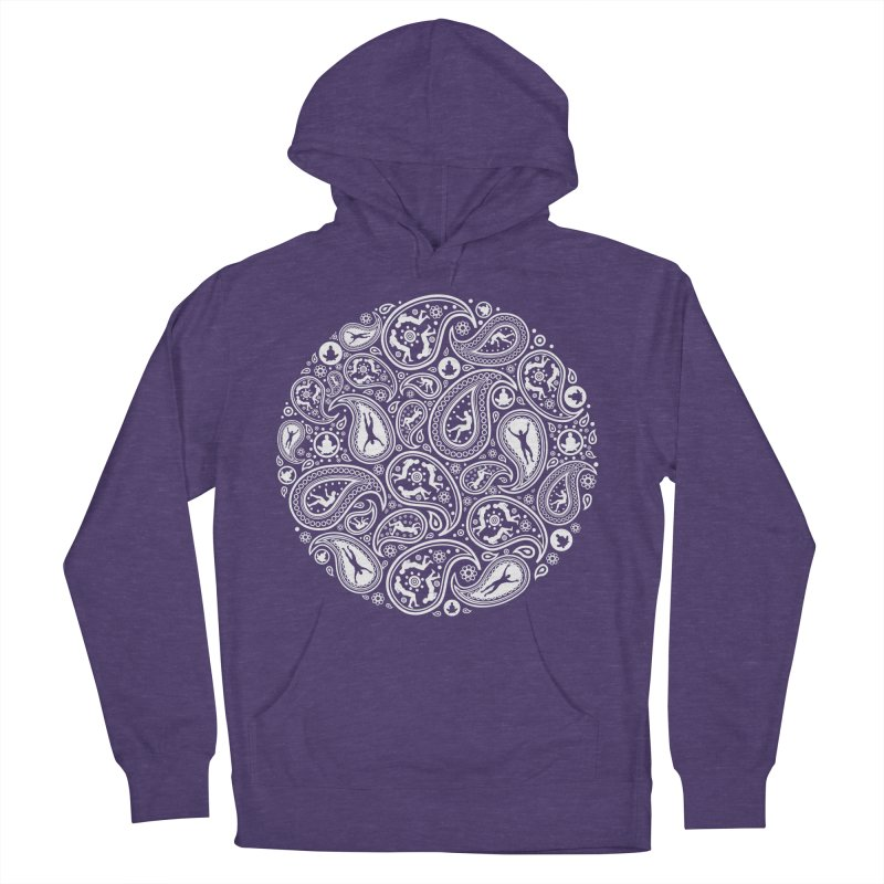 Human Paisley Men's French Terry Pullover Hoody by zomboy's Artist Shop