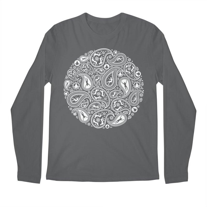 Human Paisley Men's Regular Longsleeve T-Shirt by zomboy's Artist Shop