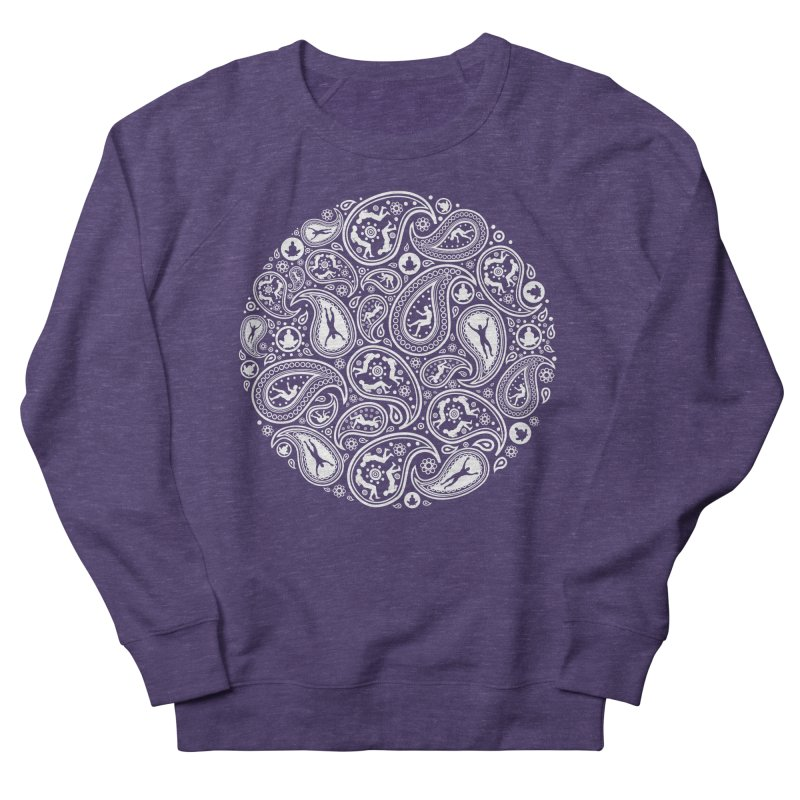 Human Paisley Men's French Terry Sweatshirt by zomboy's Artist Shop
