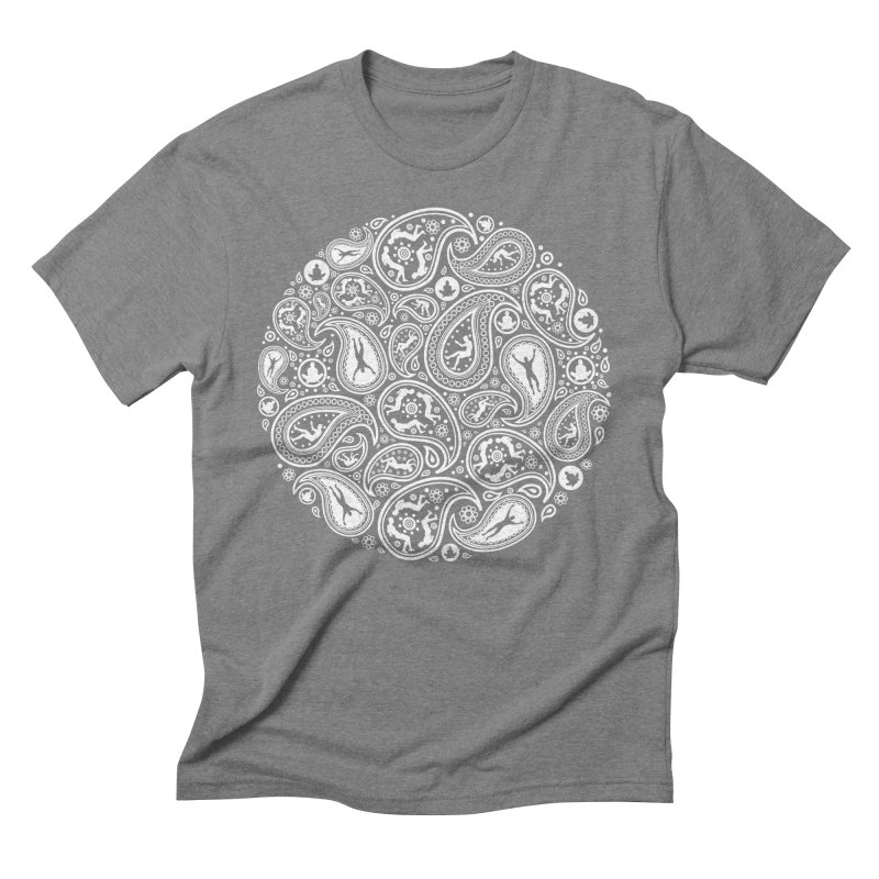 Human Paisley Men's Triblend T-shirt by zomboy's Artist Shop