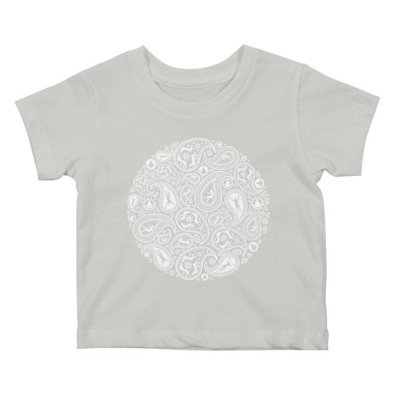 Human Paisley Kids Baby T-Shirt by zomboy's Artist Shop