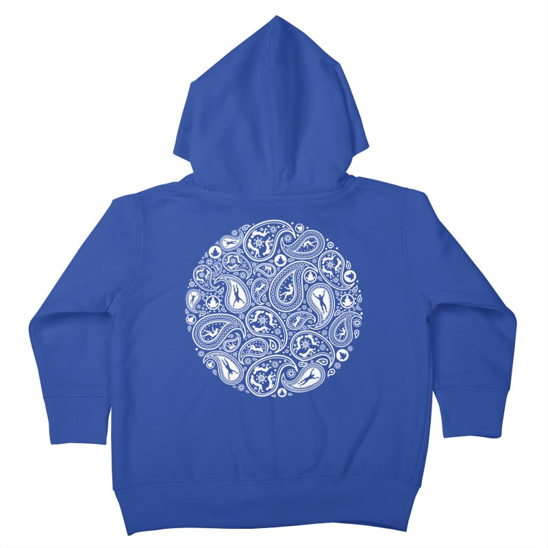 Human Paisley Kids Toddler Zip-Up Hoody by zomboy's Artist Shop
