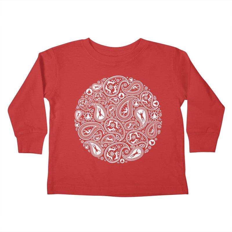Human Paisley Kids Toddler Longsleeve T-Shirt by zomboy's Artist Shop