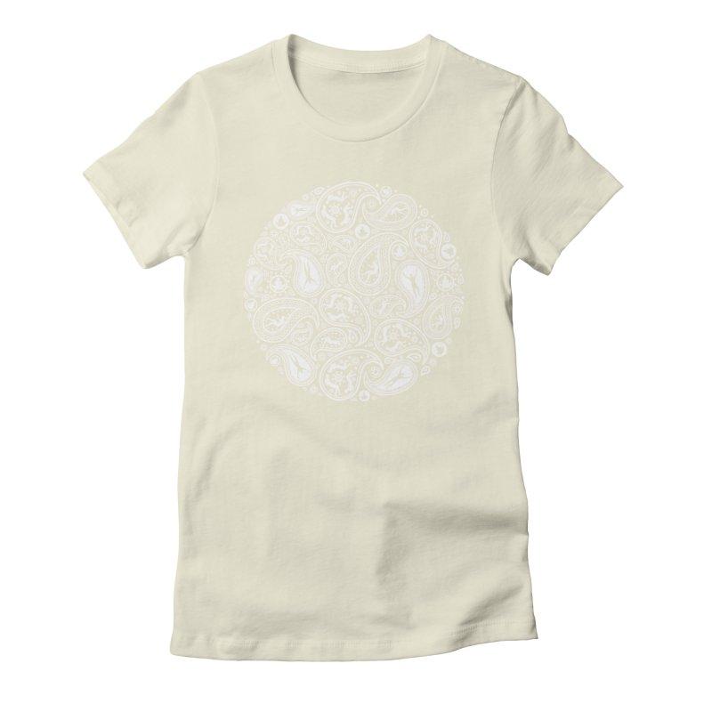Human Paisley Women's Fitted T-Shirt by zomboy's Artist Shop