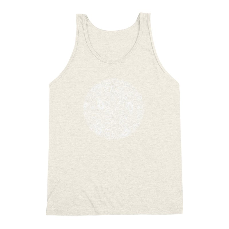 Human Paisley Men's Triblend Tank by zomboy's Artist Shop