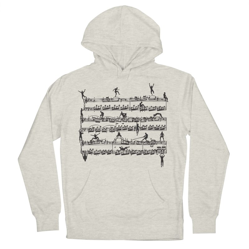 Mozart Men Men's French Terry Pullover Hoody by zomboy's Artist Shop