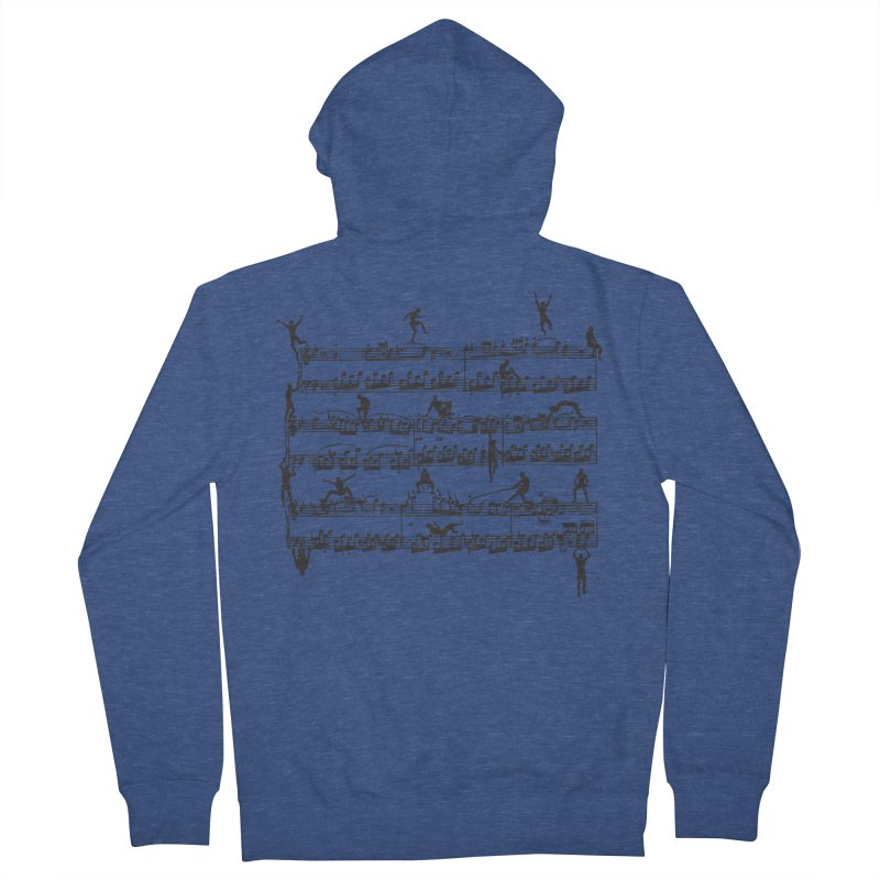 Mozart Men Women's French Terry Zip-Up Hoody by zomboy's Artist Shop
