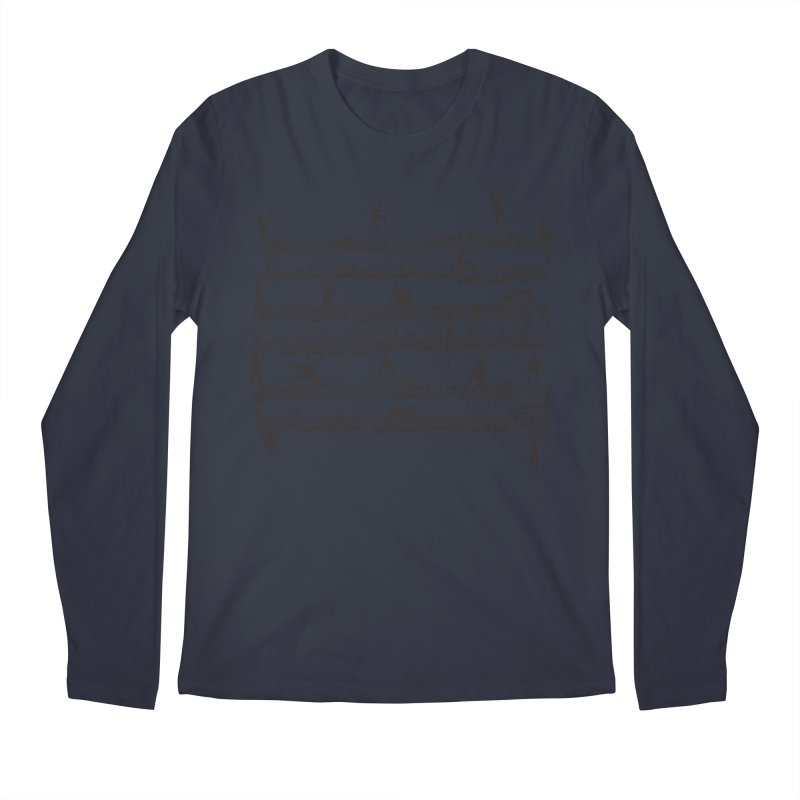 Mozart Men Men's Longsleeve T-Shirt by zomboy's Artist Shop