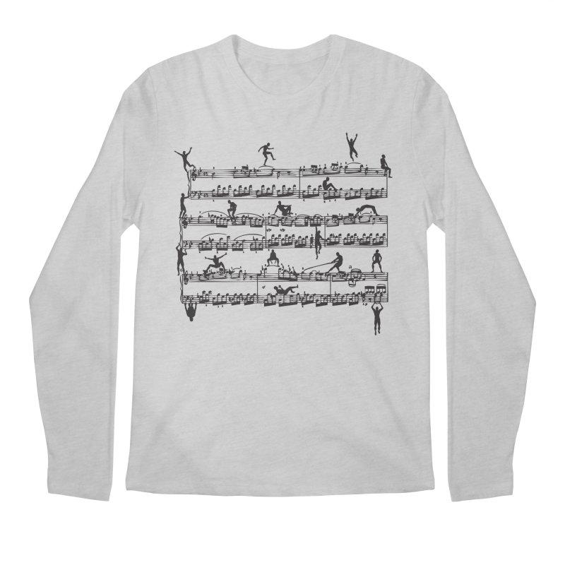 Mozart Men Men's Regular Longsleeve T-Shirt by zomboy's Artist Shop