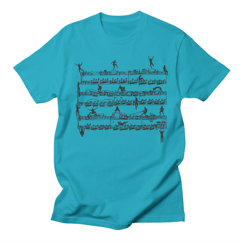 Mozart Men Men's Regular T-Shirt by zomboy's Artist Shop