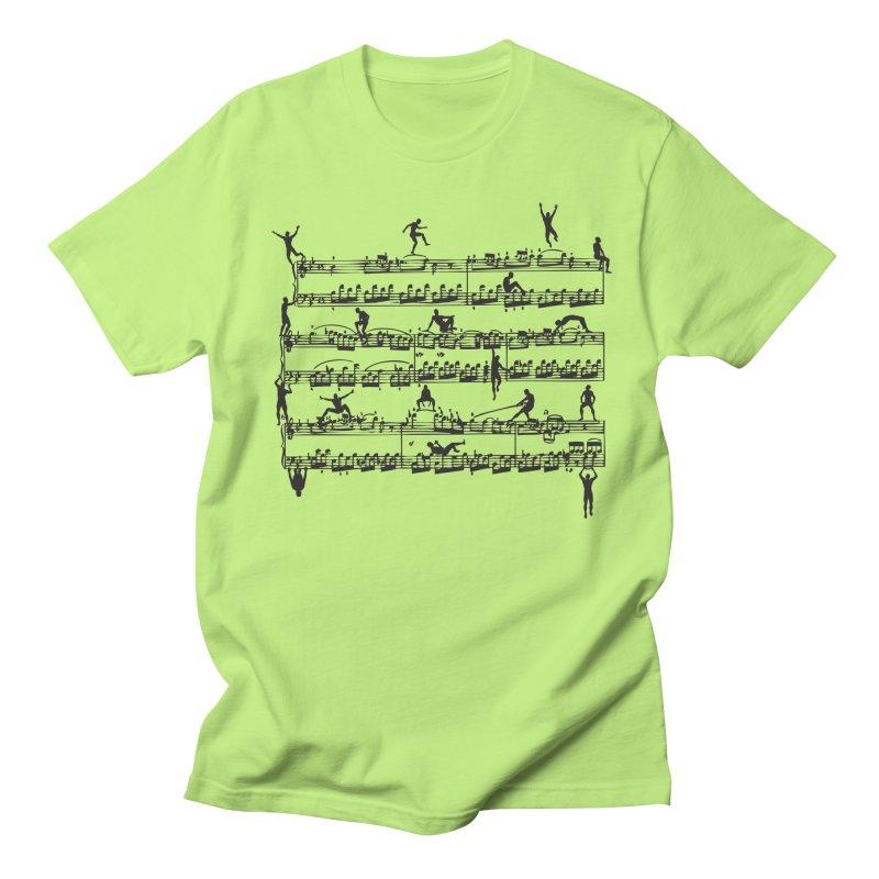 Mozart Men Men's T-Shirt by zomboy's Artist Shop